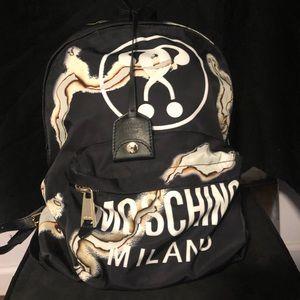 Moschino Fashion Kills Backpack